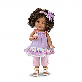 Lavender And Lace Child Doll