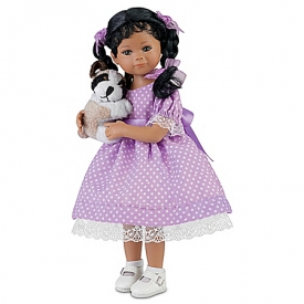 Mayra Garza Kimani And Her Puppy Collectible Child Doll