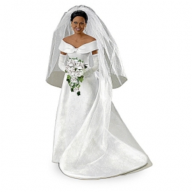 Bride Doll: Michelle Obama Commemorative Bride Doll