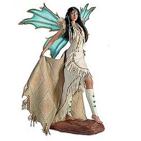Doll: Sedona Sky Mystical Maiden Fantasy Doll