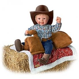Sherry Rawn Li'l Blake Baby Cowboy Doll
