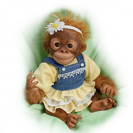Darling Daisy Lifelike Monkey Doll