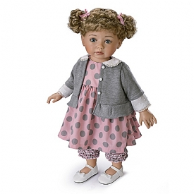 Mayra Garza Picture Perfect, Avery Lifelike Child Doll