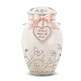 A Year Of Wishes Ginger Jar Music Box: Daughter Gift
