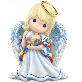 Figurine: Precious Moments Angel Of Caring Figurine