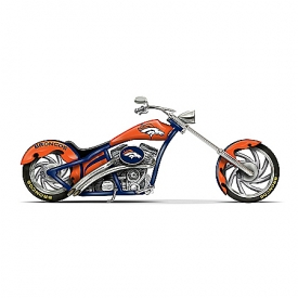 Figurine: Denver Broncos Cruiser Figurine