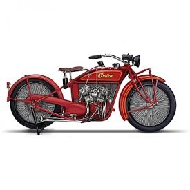 1923 Indian Motorcycle Sculpture