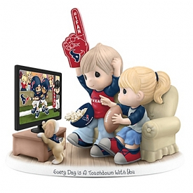 Every Day Is A Touchdown With You Houston Texans NFL Figurine