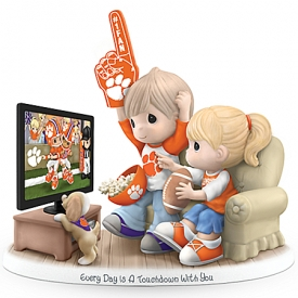 Every Day Is A Touchdown With You Clemson Tigers Precious Moments Figurine