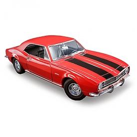 1:18 Scale 1967 Chevrolet Camaro Z/28 Bolero Red Diecast Car