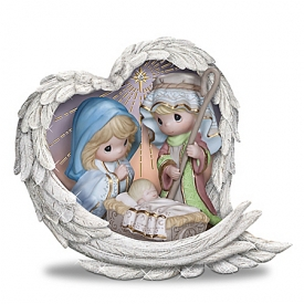 Precious Moments Heavenly Blessings Nativity Figurine