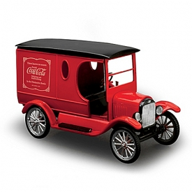 1:25-Scale 1923 COCA-COLA Model T Model Car Kit With Decorative Display Stand