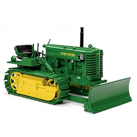 1:16-Scale 1949 John Deere Model MC Crawler With Blade Diecast Tractor