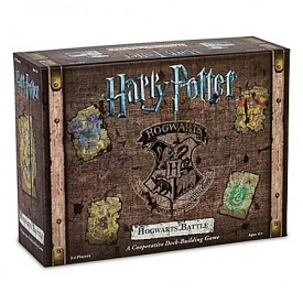 Harry Potter: Hogwarts Battle 2-4 Player Cooperative Deck-Building Board Game