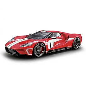 1:18-Scale 2018 Ford GT #1 Heritage Edition AuthentiCast Resin Sculpture