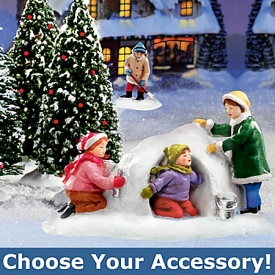 Hawthorne Village Winter Accessories: Holiday Home Decor
