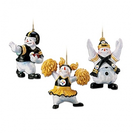 NFL Coolest Fans Christmas Ornament Collection