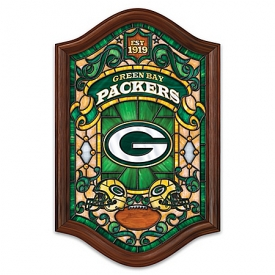 NFL Illuminated Stained-Glass Wall Decor: Choose Your Favorite Football Team
