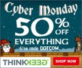ThinkGeek CyberMonday 50% Off Site Wide