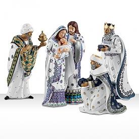 Polish Nativity Set: Silent Night