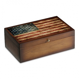 Old Glory Vintage Wood Storage Box Train Accessory For HO-Scale Or ON30-Scale Train Cars