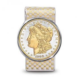 The Morgan Silver Dollar Money Clip