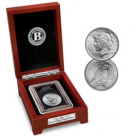 1922 Double Die Peace Silver Dollar Error Collectible Coin