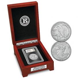 100th Anniversary 1916 Walking Liberty Silver Half Dollar Coin