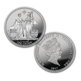2017 Liberty & Britannia 1-Ounce Silver Legal Tender Coin