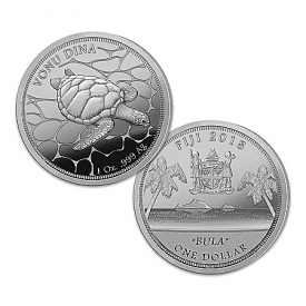 2018 Fiji BULA Silver Bullion Proof Dollar Coin