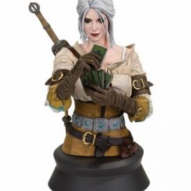 Witcher 3: Wild Hunt – Ciri Playing Gwent Bust