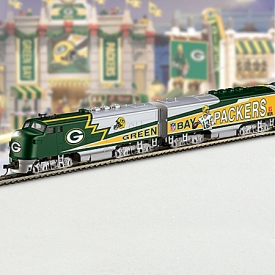 NFL Green Bay Packers Express Train Collection