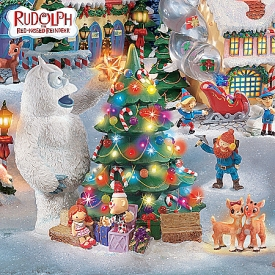 Rudolph The Red-Nosed Reindeer® Christmas Town Village Collection