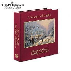 A Season Of Light: Thomas Kinkade's Holiday Memories Print Collection