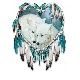 "Carol Cavalaris Native American Inspired ""True Hearts"" Dreamcatcher Collection"