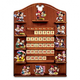 Disney Mickey Mouse And Minnie Mouse Together Forever Perpetual Calendar Collection