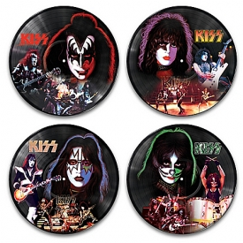 KISS Vinyl Records Revolution Wall Decor Collection