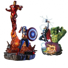 MARVEL Avengers Assemble Illuminated Sculpture Collection