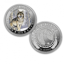 Al Agnew The Spirit Of The Pack Official Silver-Plated Legal Tender Coin Collection