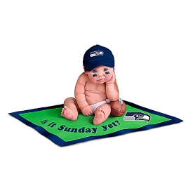 Dolls: Seattle Seahawks #1 Fan Baby Doll Collection