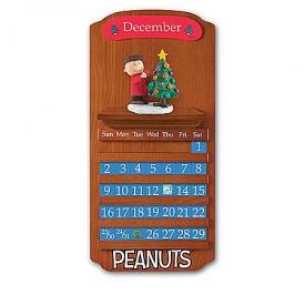 PEANUTS Perpetual Calendar Sculpted Figurine Collection