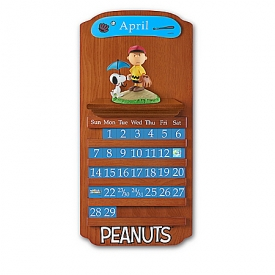 PEANUTS Perpetual Calendar Sculpted Figurine Collection