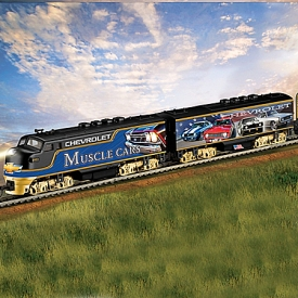 Chevrolet Classic Muscle Car Express Train Collection