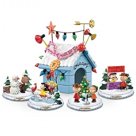 PEANUTS Very Merry Christmas Handcrafted Sculpture Collection