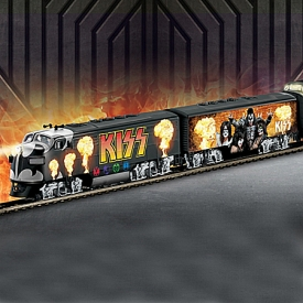 KISS Rock 'N Roll Express Diesel Train Collection