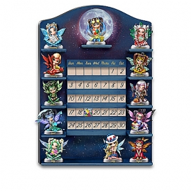 Jasmine Becket-Griffith A Year Of Enchantment Perpetual Sculptural Fairy Calendar Collection