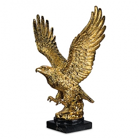 18K Gold-Plated Eagle Sculpture Collection