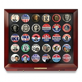 Presidents Of The United States Campaign Button Collection