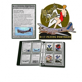 Greatest Aircraft Of World War II Patch Collection With Deluxe Collector Album, Fact Cards & Dog-Tags