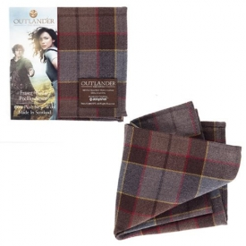 Outlander Fraser Tartan Pocket Square